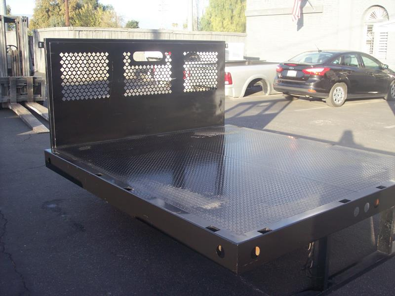 New Flat Bed, Stake Bed & Contractor Bodies